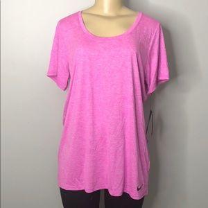 Nike DRI-FIT Women's active wear blouse